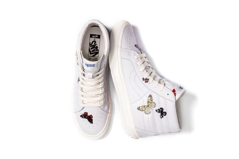 Damien Hirst x Palms Casino Resort x Vans Sk8-Hi Butterfly Sneaker Collection