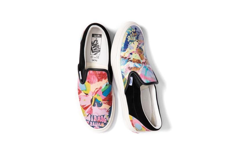 Damien Hirst x Palms Casino Resort x Vans Slip-On Skull Sneaker Collection