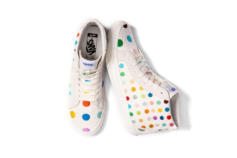 Damien Hirst x Palms Casino Resort x Vans Sk8-Hi Dots Sneaker Collection