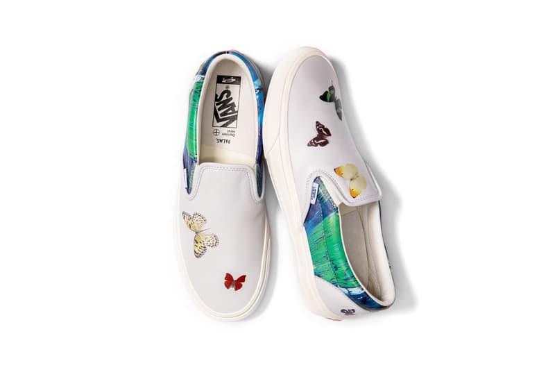 Damien Hirst x Palms Casino Resort x Vans Slip-On Butterfly Sneaker Collection