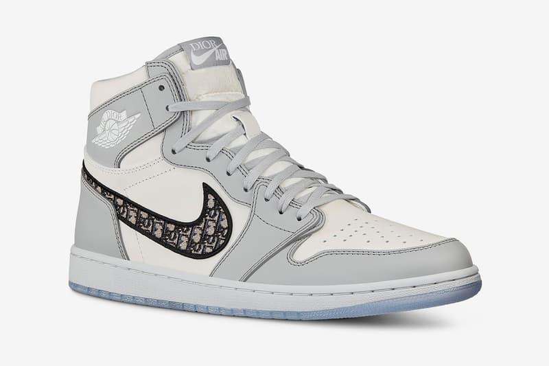 dior nike collaboration air jordan 1 sneakers rumor