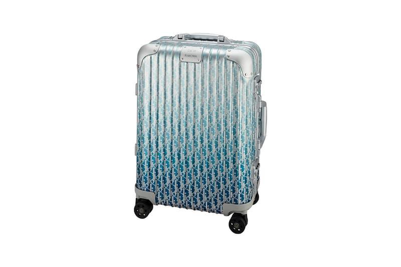 Dior x RIMOWA Cabin Monogram Blue Ombre