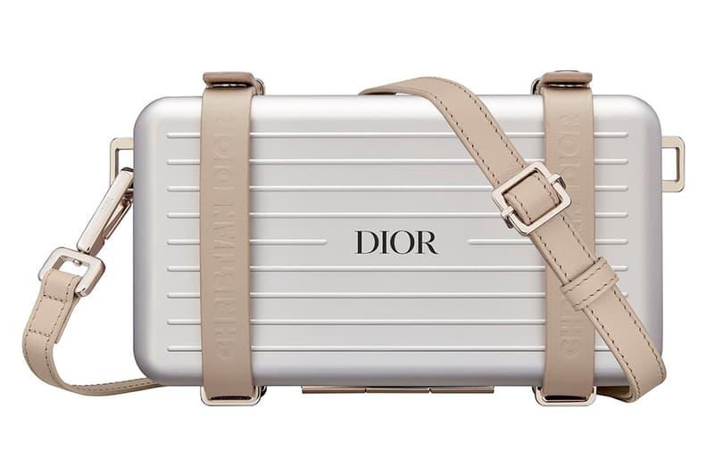Dior x RIMOWA Personal Case Silver