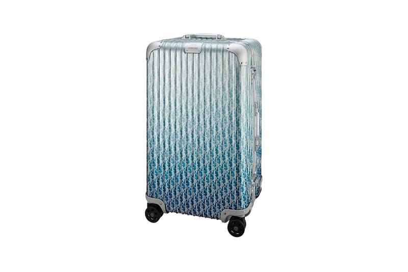 Dior x RIMOWA Trunk Monogram Blue Ombre