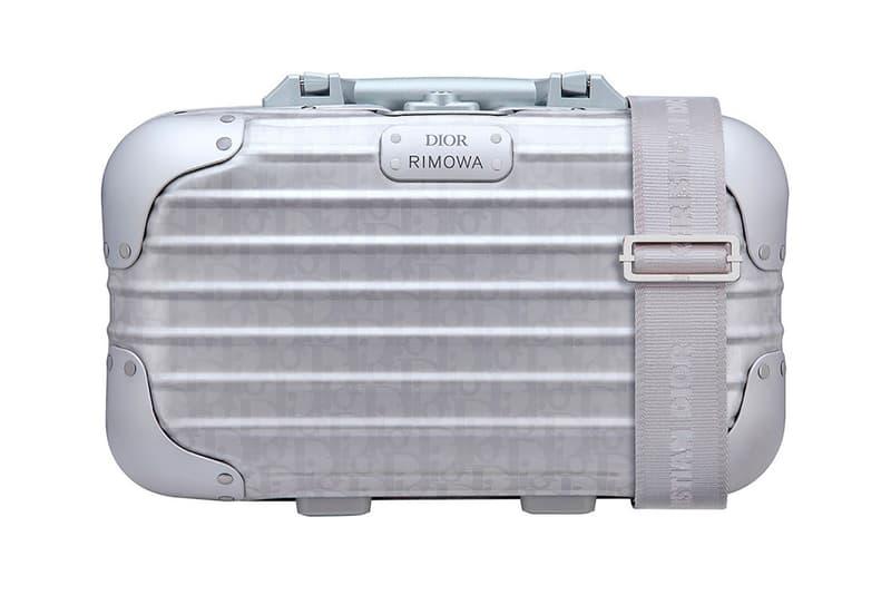 Dior x RIMOWA Handcase Monogram Silver