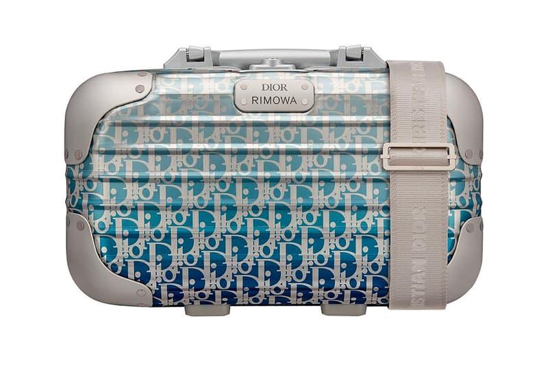 Dior x RIMOWA Handcase Monogram Blue Ombre