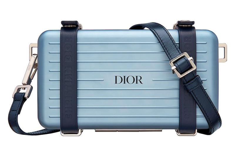 Dior x RIMOWA Personal Case Blue