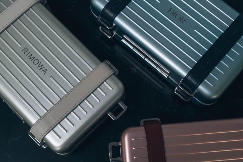 Dior x RIMOWA Monogram Cabin Luggage Suitcase