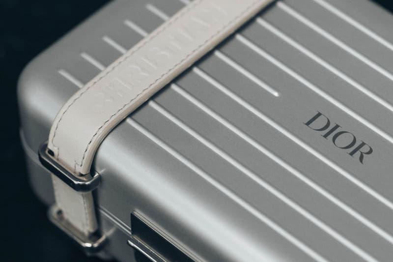 Dior x RIMOWA Trunk Handcase Silver