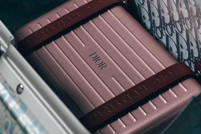 Dior x RIMOWA Trunk Handcase Red
