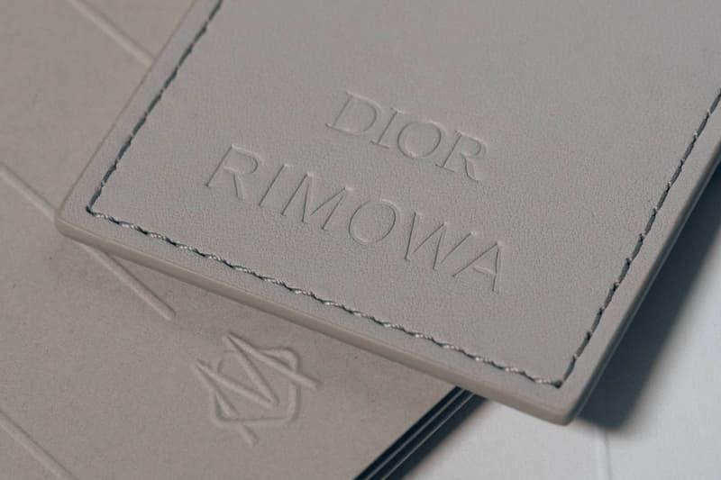 Dior x RIMOWA Tag