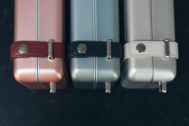 Dior x RIMOWA Trunk Handcase Red Blue Silver