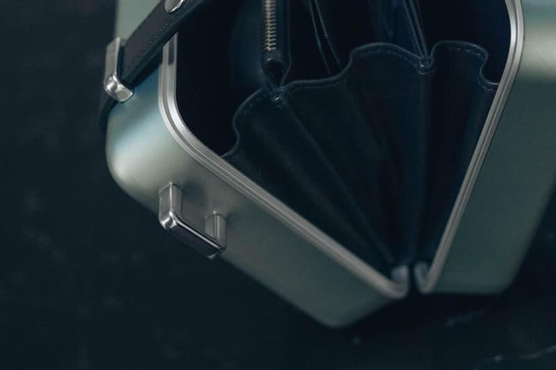 Dior x RIMOWA Trunk Handcase Blue