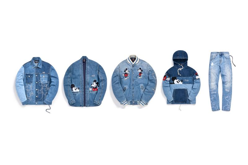 Disney x KITH Collection Mickey Mouse Puffer Denim Jacket Hoodie Jeans
