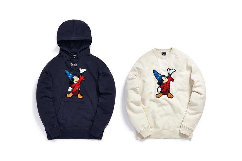 Disney x KITH Collection Mickey Mouse Hoodie Crewneck Wizard