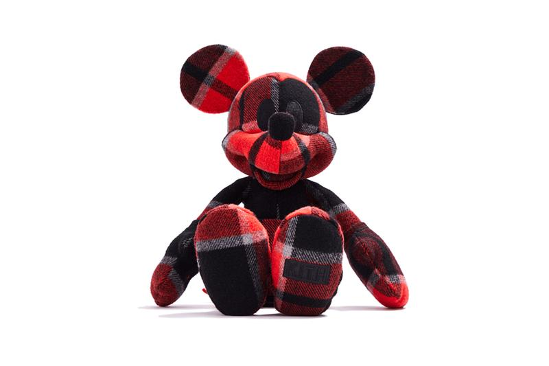 Disney x KITH Collection Mickey Mouse Stuffed Animal Plaid