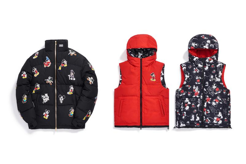 Disney x KITH Collection Mickey Mouse Puffer Jacket Vest