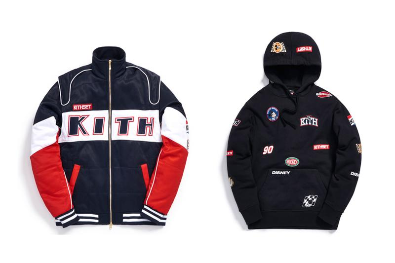 Disney x KITH Collection Racing Jacket Hoodie