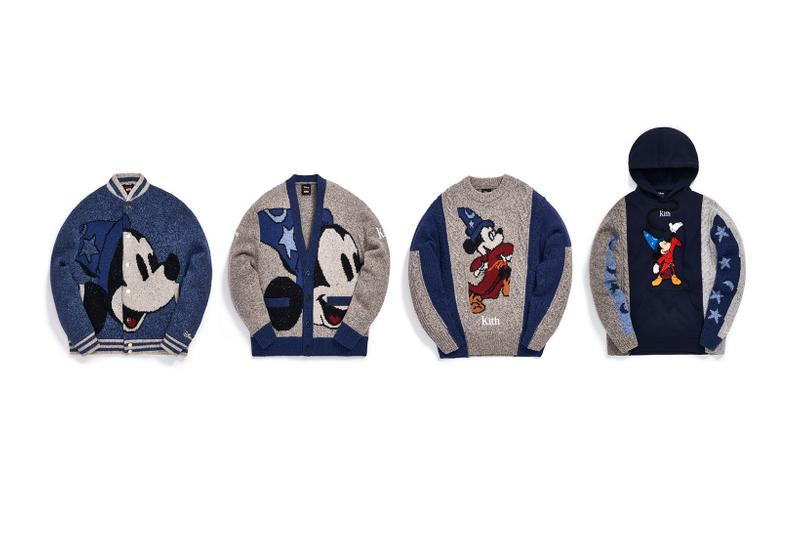 Disney x KITH Collection Mickey Mouse Knit Cardigan Sweater Fantasia