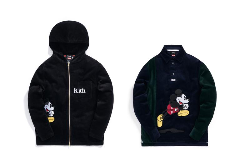 Disney x KITH Collection Mickey Mouse Mickey Mouse Corduroy Hoodie Shirt