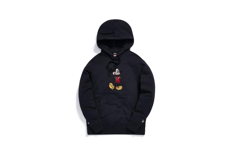 Disney x KITH Collection Mickey Mouse Rhinestone Hoodie Black