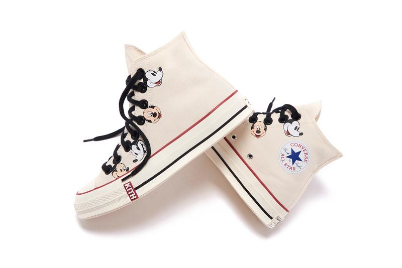 Disney x KITH x Converse Mickey Mouse Chuck 70 Canvas White