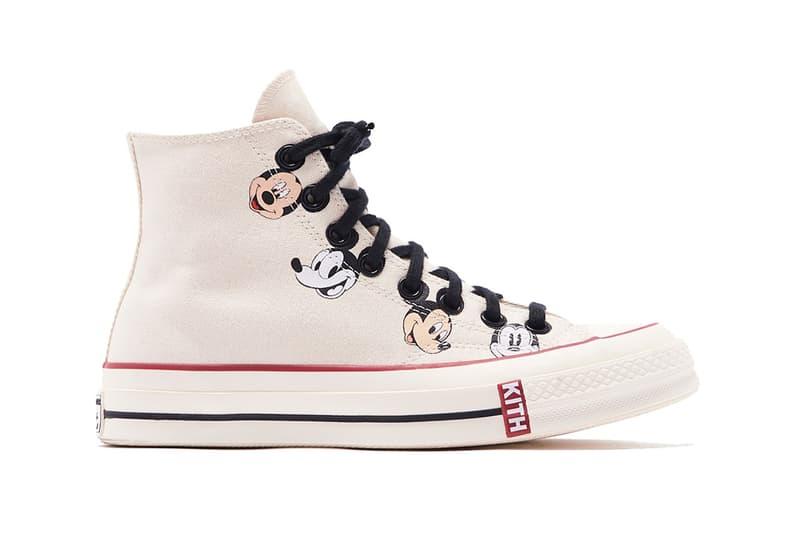 Disney x KITH x Converse Mickey Mouse Chuck 70 White