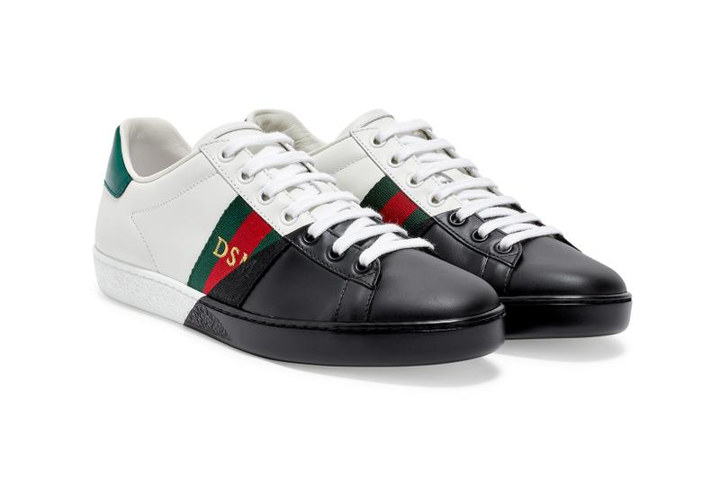 Dover Street Market Monochromarket Anniversary Collection Gucci Ace Sneaker