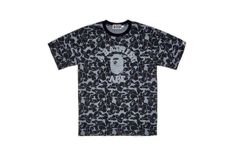 Dover Street Market Monochromarket Anniversary Collection BAPE T-Shirt Camo