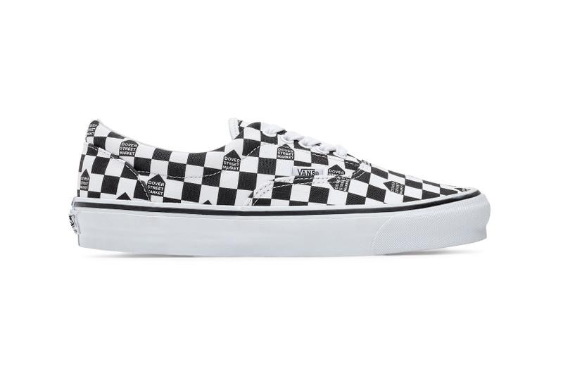Dover Street Market Monochromarket Anniversary Collection Vans Authentic