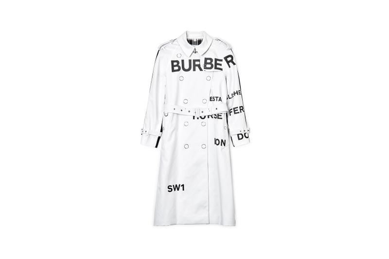 Dover Street Market Monochromarket Anniversary Collection Burberry