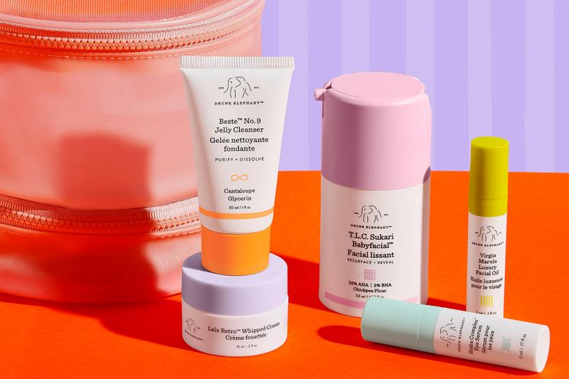drunk elephant skincare brand beauty jelly cleanser babyfacial oil lala retro whipped cream