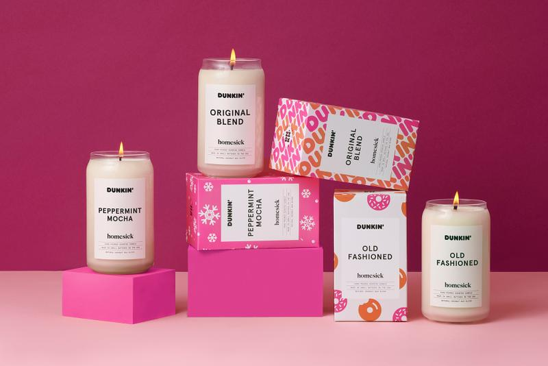 Dunkin' Donuts Homesick Candle Collection