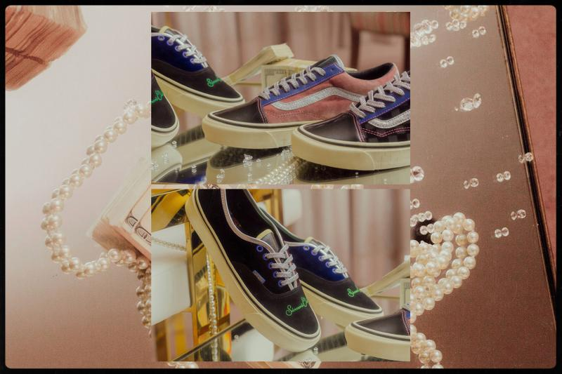 Feature x Vans Vault Collection Lookbook Old Skool Authentic LX