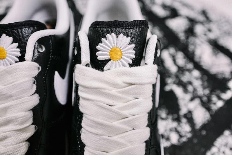 g dragon peaceminusone nike air force 1 07 paranoise sneakers collaboration black white shoes footwear sneakerhead