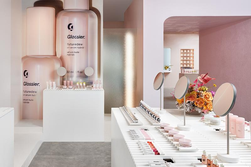 Glossier London Pop-Up Store Location Information Beauty Makeup Skincare Products Space Covent Garden