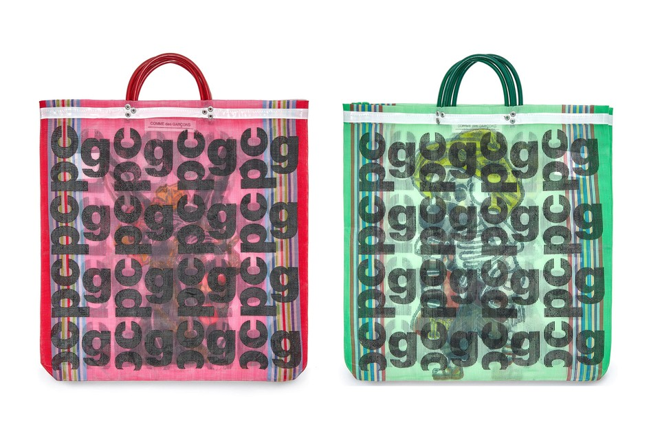 COMME des GARÇONS Releases Rainbow of New Monogram Bags