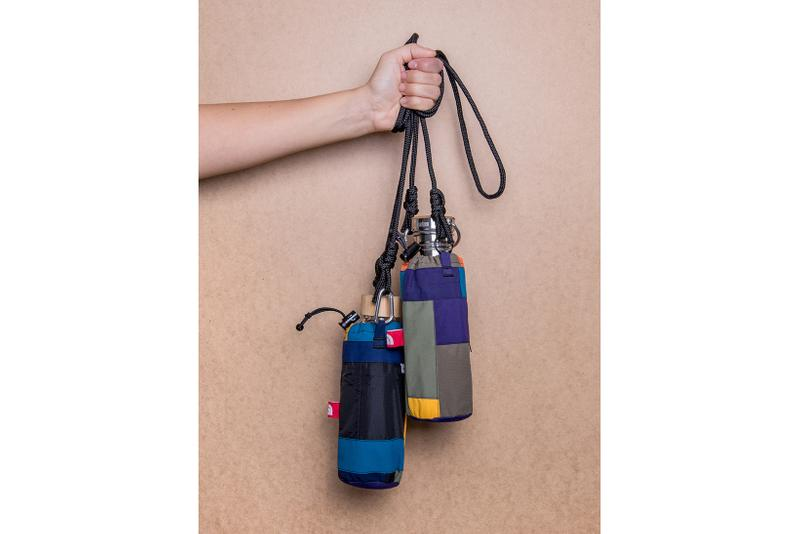 greater goods sustainable bottle bags recycle the north face military surplus fabric material garments