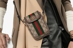 Picture of Gucci's Monogram iPhone Bag Is the Perfect Accessory to Wear This Fall