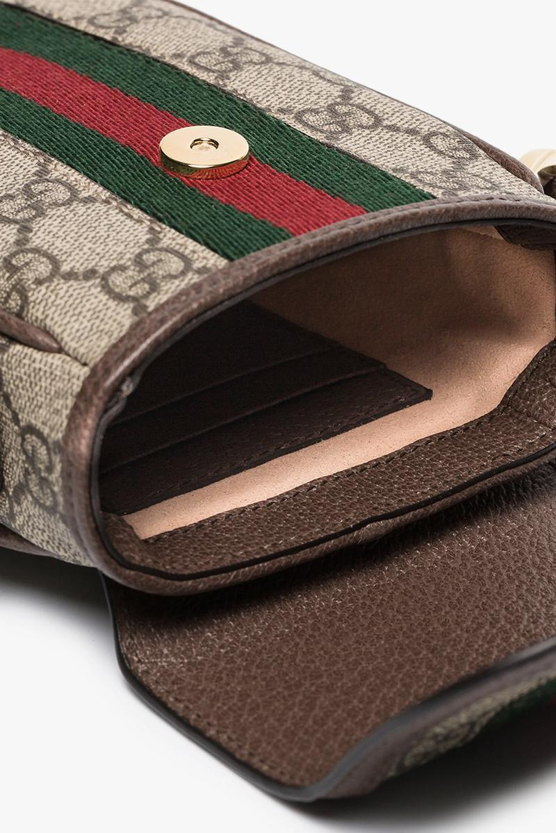 Gucci Monogram iPhone Bag Tiny Trend Luxury Retro Inspired Logo Print