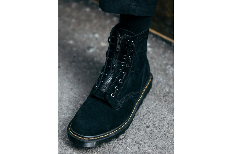 HAVEN x Dr. Martens 1460 Jungle Boot Black