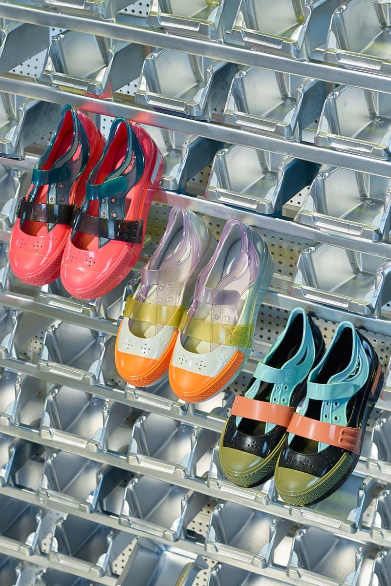 Helen Kirkum x Melissa Collection Campaign Shoes