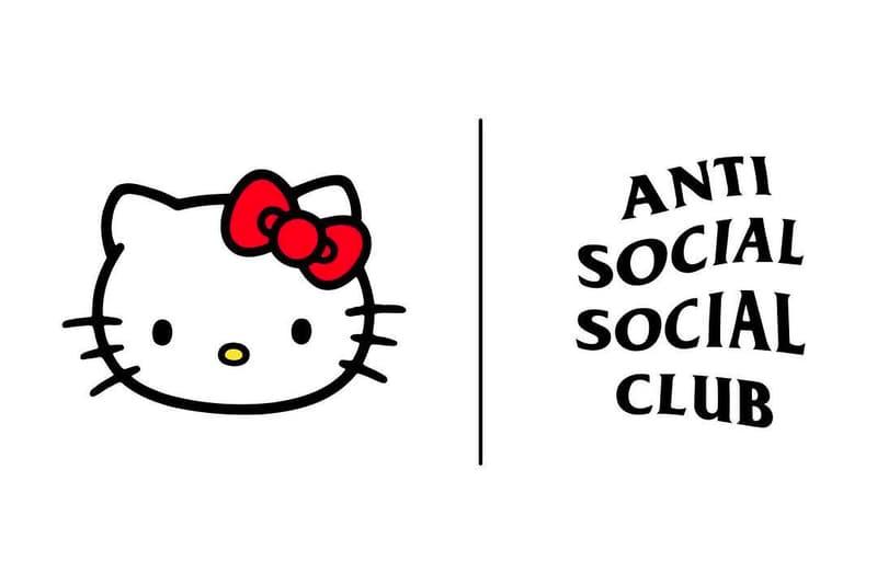 Hello Kitty Anti Social Social Club Collaboration Streetwear Neek Lurk Sanrio