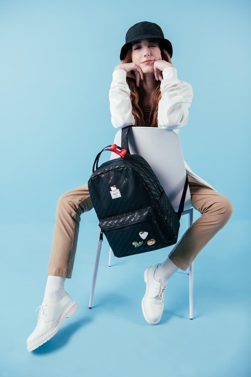 Hello Kitty x Hershel Collection Nova Backpack Fifteen Fanny Pack Black