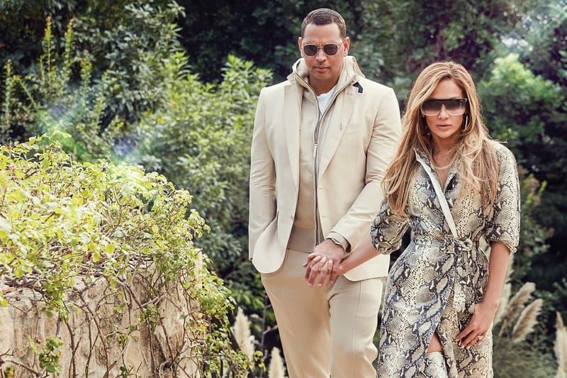 ennifer Lopez Alex Rodriguez Quay Australia Sunglasses Collection Campaign Big Time Gold Smoke Jaded Clear Fade