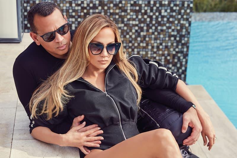 ennifer Lopez Alex Rodriguez Quay Australia Sunglasses Collection Campaign Great Escape Reina Matte Black