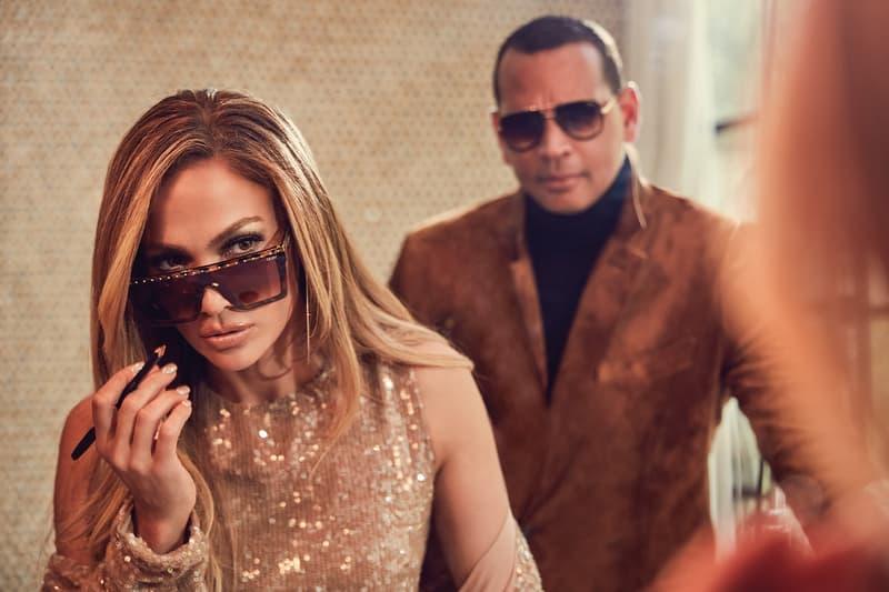 ennifer Lopez Alex Rodriguez Quay Australia Sunglasses Collection Campaign Hindsight Tortoise All In Mini Fade