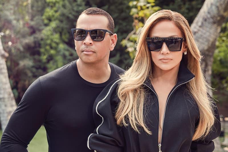 ennifer Lopez Alex Rodriguez Quay Australia Sunglasses Collection Campaign Reckless Hindsight Smoke Black