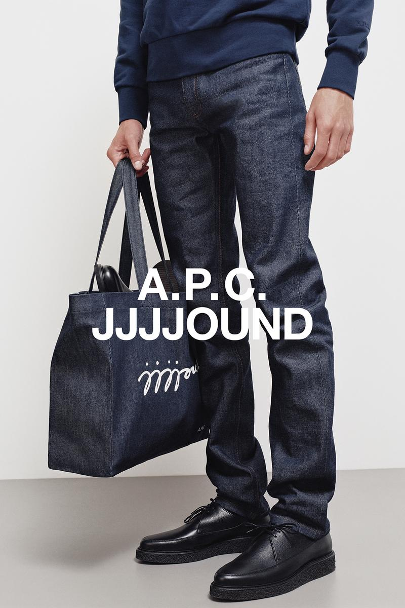 JJJJound x A.P.C. Collection Lookbook Shopping Bag