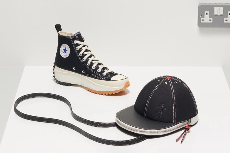 JW Anderson Converse Run Star Hike Sneaker Restock Cap Bag Canvas Release Date white Platform Trainer Shoe Collaboration